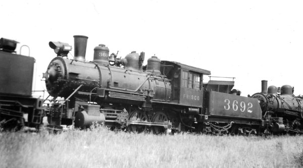 0-6-0 3692 at Memphis, Tennessee on July 4, 1933 (Arthur B. Johnson)