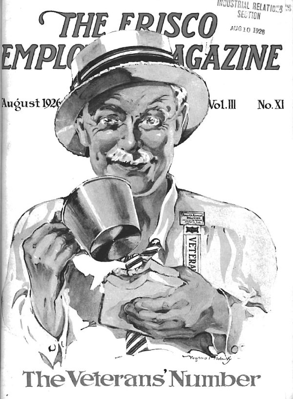 Frisco Employes' Magazine – August 1926
