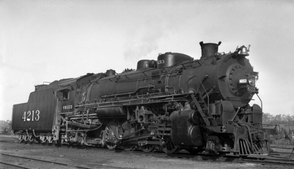 2-8-2 4213 at Birmingham, Alabama on May 22, 1948 (Ardrey)
