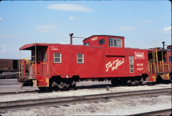 Caboose 1427 at Birmingham, Alabama on May 19, 1978