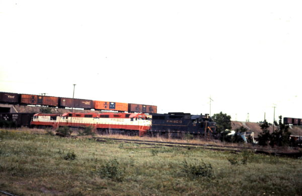 GP35 714 and GP38AC 638 at Oklahoma City, OK (date unknown)