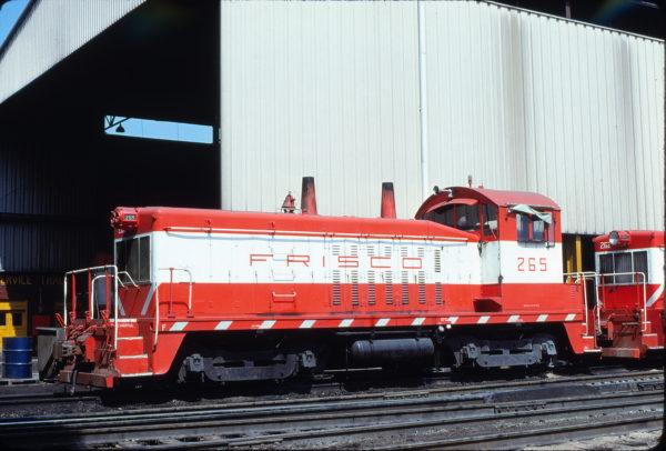 NW2 265 at Springfield, Missouri on March 26, 1980 (Bob Graham)