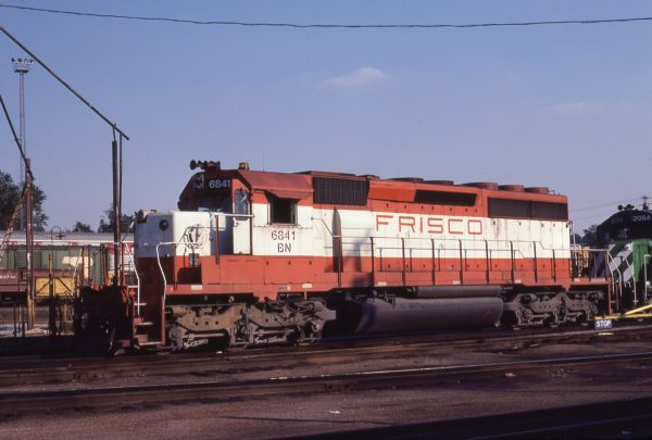 SD40-2 6841 (Frisco 951) at St. Louis, Missouri on August 20, 1981 (M.A. Wise)