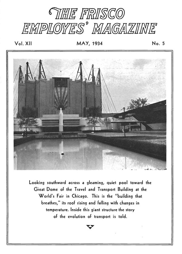 Frisco Employes' Magazine – May 1934