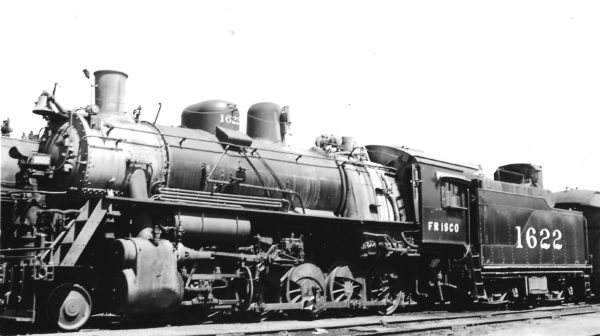 2-10-0 1622 at Tulsa, Oklahoma on July 31, 1949 (Arthur B. Johnson)