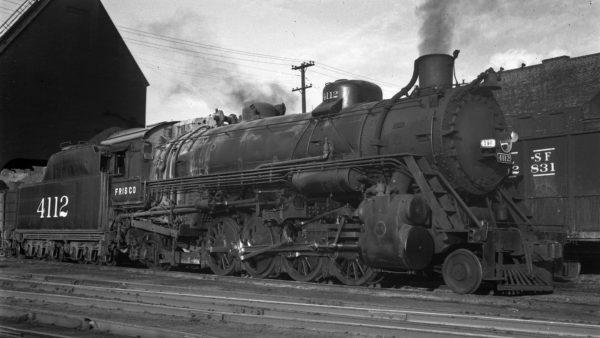 2-8-2 4112 at Kansas City, Missouri on August 31, 1947 (R.B. Graham)