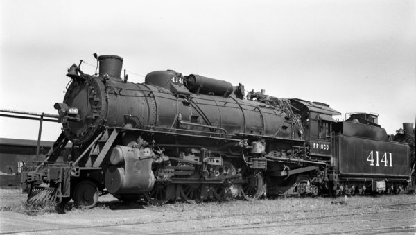 2-8-2 4141 (location unknown) on September 23, 1948 (Davies)