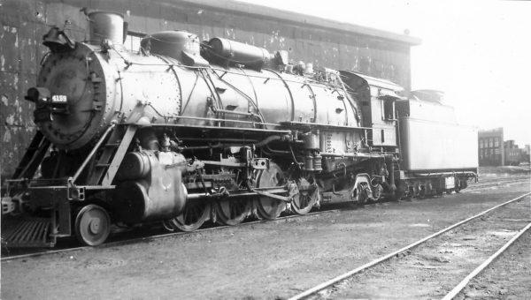 2-8-2 4159 at Tulsa, Oklahoma on July 24, 1948 (Arthur B. Johnson)