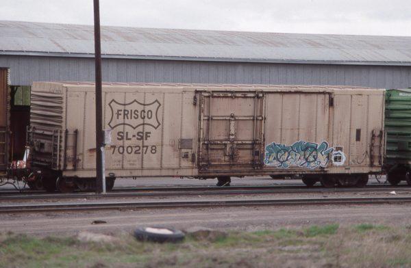 Boxcar 700278 at Pasco, Washington on March 19, 1997 (R.R. Taylor)