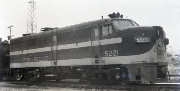 FA-1 5221 at Springfield, Missouri in December 1951