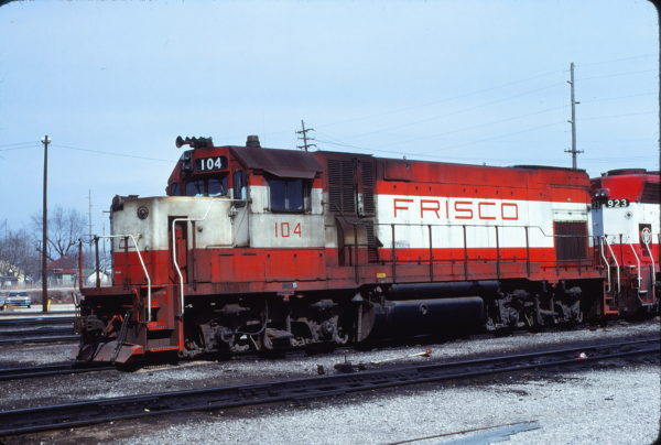 GP15-1 104 at Springfield, Missouri on March 22, 1980 (J. Harlen Wilson)