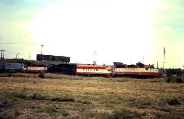GP35 722 at Oklahoma City, OK. (date unknown)