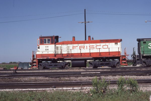 SW1500 44 (Frisco 339) at Kansas City, Missouri on May 22, 1983