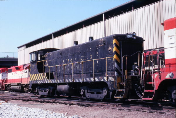 VO-1000m 203 at Springfield, Missouri in September 1978