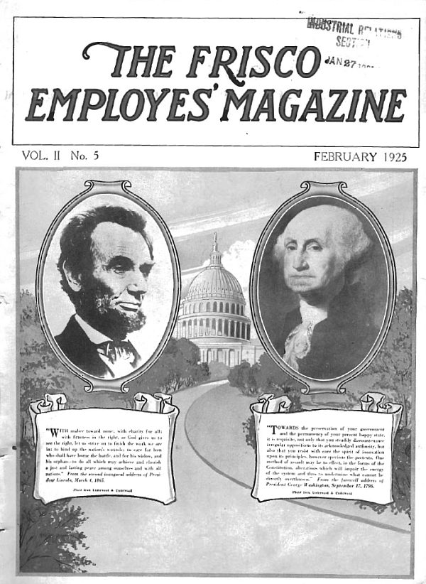 Frisco Employes' Magazine – February 1925