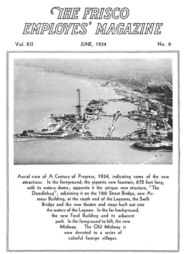 Frisco Employes' Magazine – June 1934