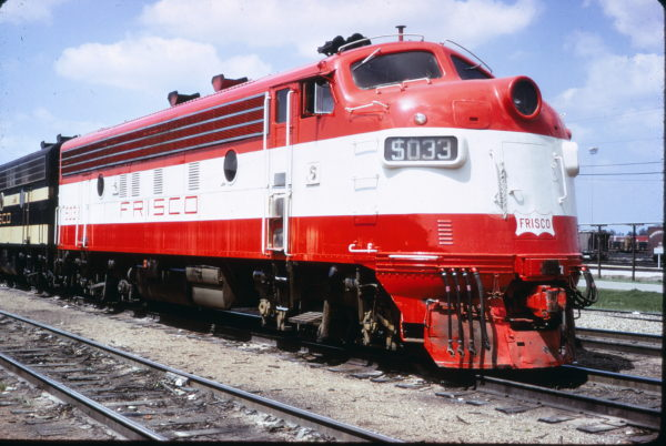 F7A 5033 at Memphis, Tennessee on April 1, 1967