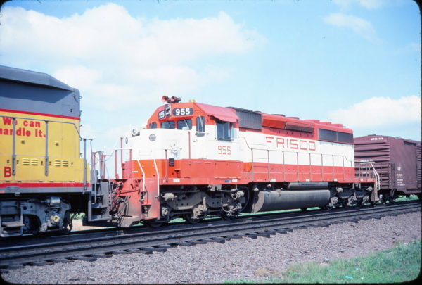 SD40-2 955 (location unknown) in July 1979