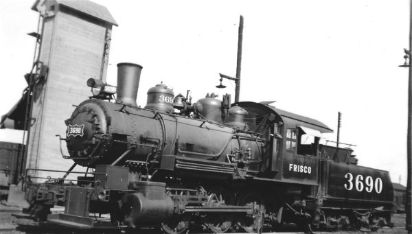 0-6-0 3690 at Pensacola, Florida on August 25, 1944 (Arthur B. Johnson)