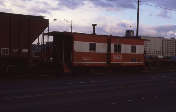 Caboose 11705 (Frisco 1731) at Seattle, Washington in November 1985