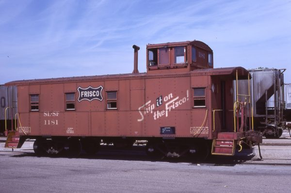 Caboose 1181 at Fort Worth, Texas on June 22, 1980 (Bill Phillips)