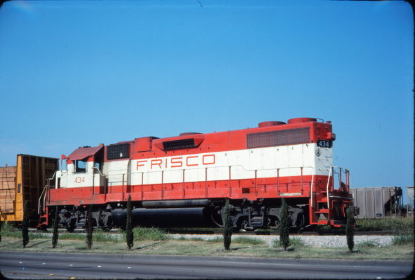 GP38-2 434 (location unknown) in August 1976