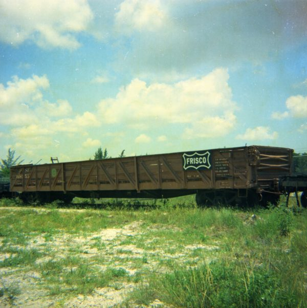 Gondola 60053 at Fort Lauderdale, Florida on July 2, 1972 (Built May 1930 by Gold Coast Railroad)