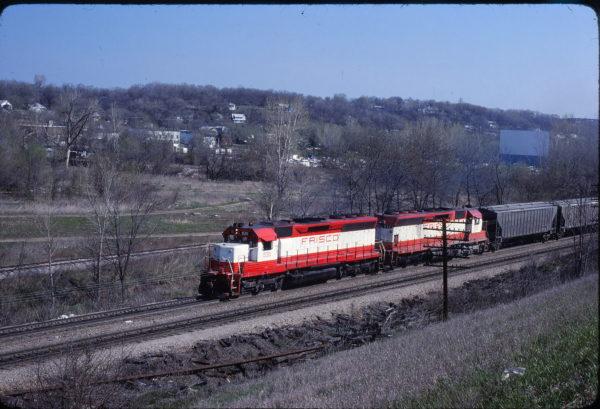 SD45s 930 and 932 at Kansas City, Kansas on April 19, 1980 (John Benson)