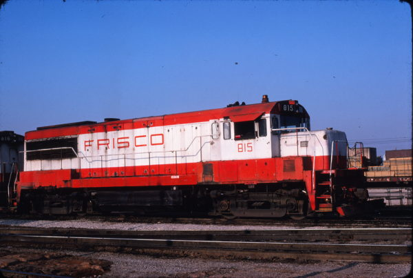 U25B 815 at Memphis, Tennessee in November 1978 (David Johnson)