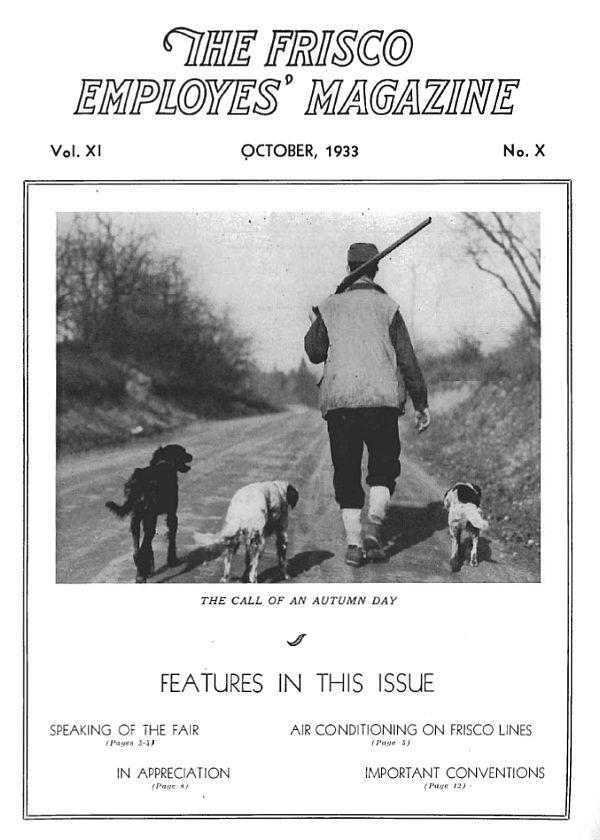 Frisco Employes' Magazine – October 1933