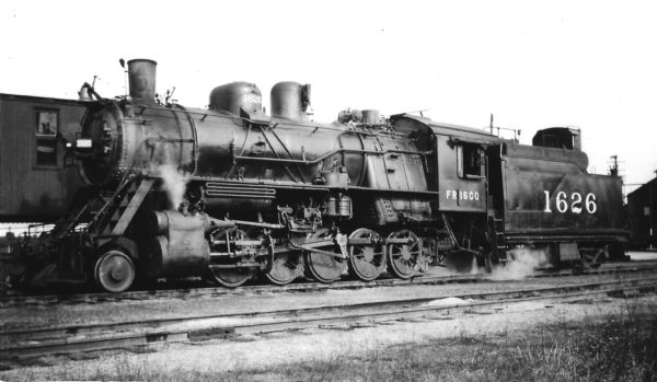 2-10-0 1626 at Fort Smith, Arkansas on February 8, 1948 (Arthur B. Johnson)