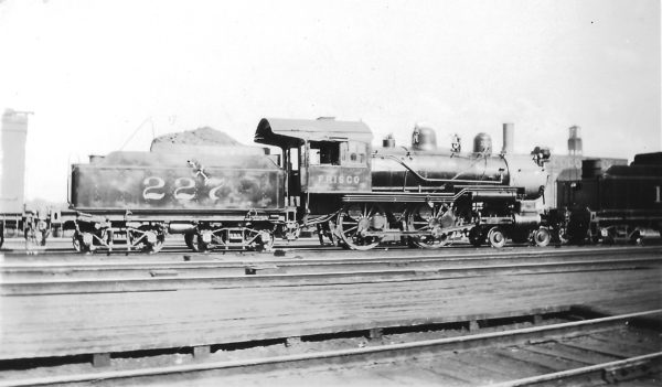 4-4-0 227 (date and location unknown)
