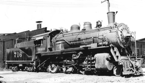 4-6-0 716 at Enid, Oklahoma on September 23, 1948 (Arthur B. Johnson)