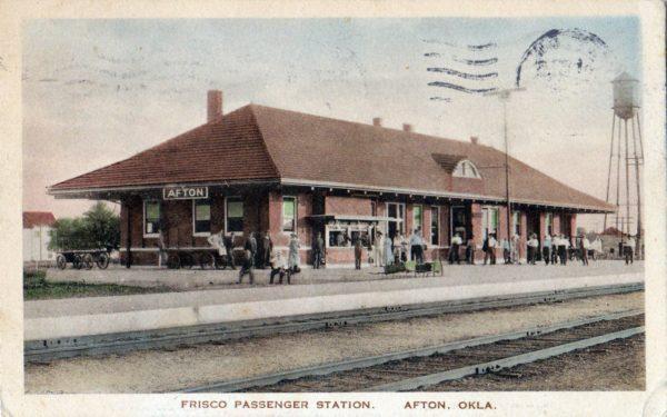 Afton, Oklahoma Depot