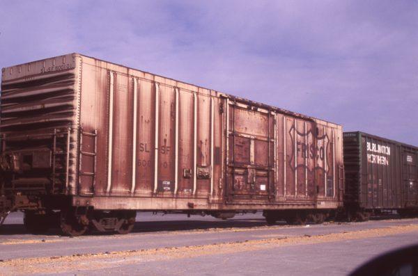 Boxcar 600101 at Pasco, Washington on July 20, 1997 (R.R. Taylor)