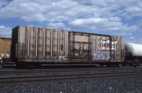Boxcar 600217 at Pasco, Washington on May 31, 1996 (R.R. Taylor)