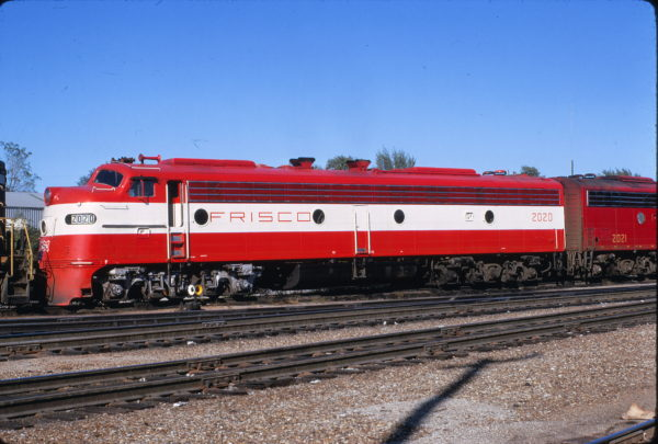 E8A 2020 (Formerly Big Red) at Springfield, Missouri on September 23, 1967 (Richard Wallin)