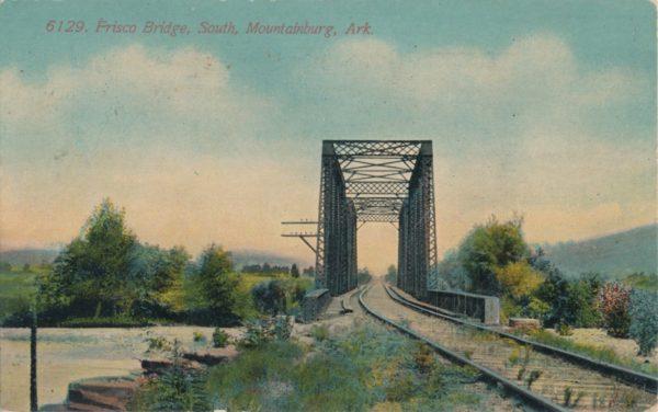 Frisco Bridge - South Mountainburg, Arkansas