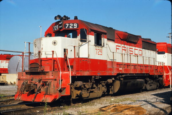 GP35 729 at Capleville, Tennessee on July 12, 1975 (Terry Foshee)