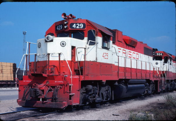 GP38-2 429 at Memphis, Tennessee in August 1979 (Steve Forest)