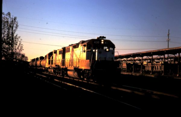 GP38-2 430 at Oklahoma, City, late 70's