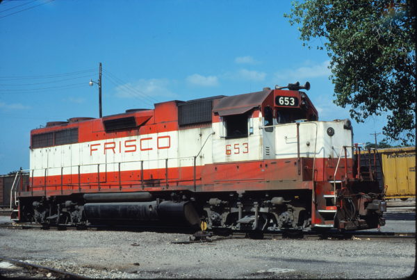 GP38AC 653 at Fort Worth, Texas on June 1, 1980 (Bill Phillips)