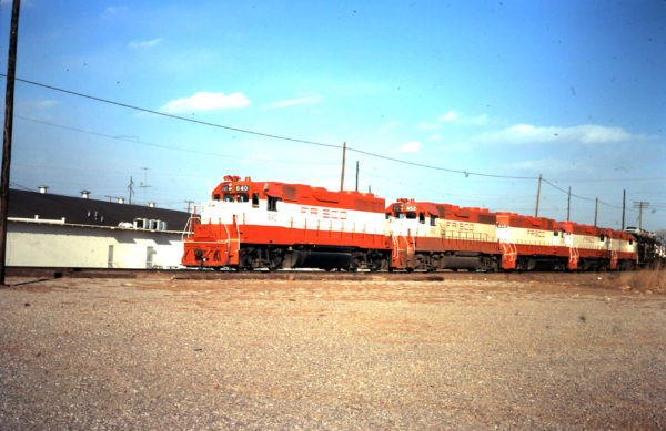 GP38ACs 640 and 652 (date and location unknown)