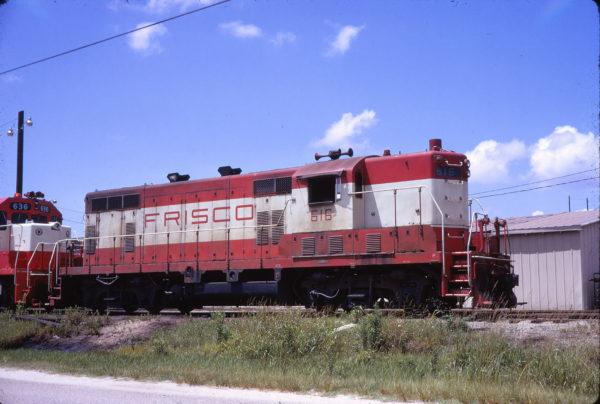 GP7 616 at Mobile, Alabama on July 10, 1971 (Elliott Kahn)