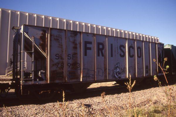 Hopper 78973 at Lenexa, Kansas on October 15, 1997 (R.R. Taylor)