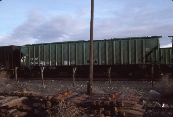 Hopper 86573 at Pasco, Washington on February 17, 1997 (R.R. Taylor)