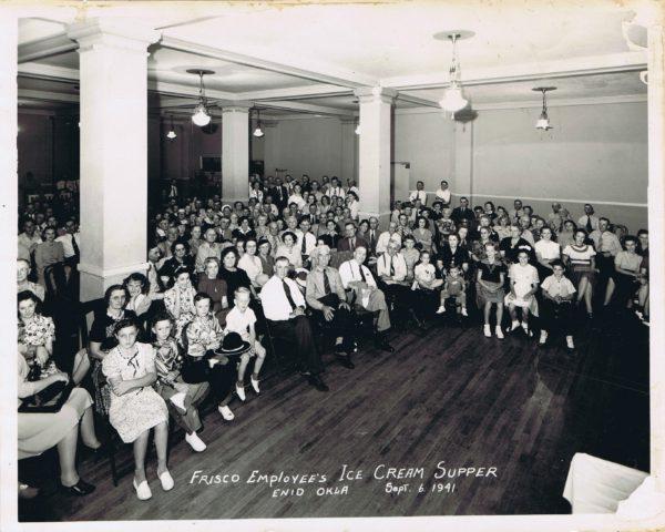 Ice Cream Supper, September 6, 1941 - Enid, Oklahoma