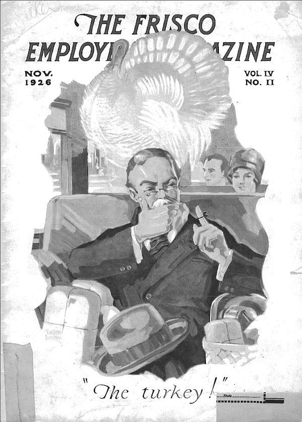 Frisco Employes' Magazine – November 1926