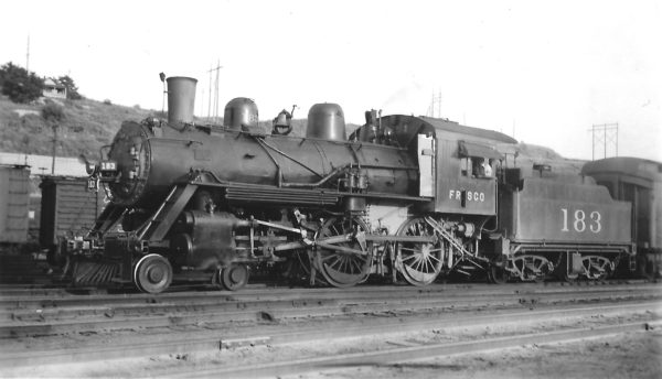 4-4-0 183 at Kansas City, Missouri on October 6, 1947