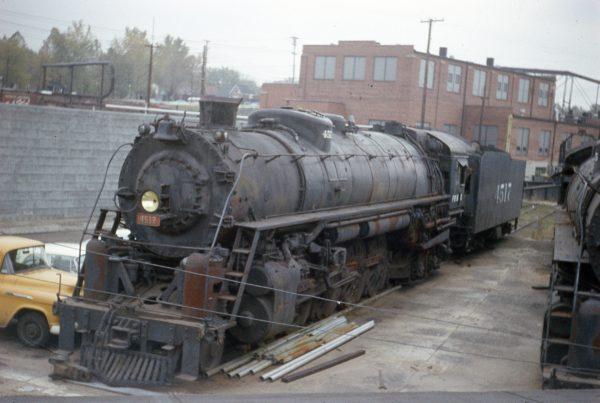 4-8-4 4517 at Lindenwood Yard, St. Louis, Missouri on November 2, 1958